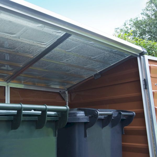 Palram Voyager Amber Plastic Shed
