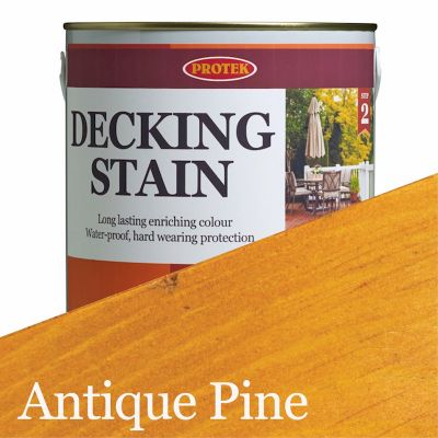 Protek Decking Stain - Antique Pine 25 Litre