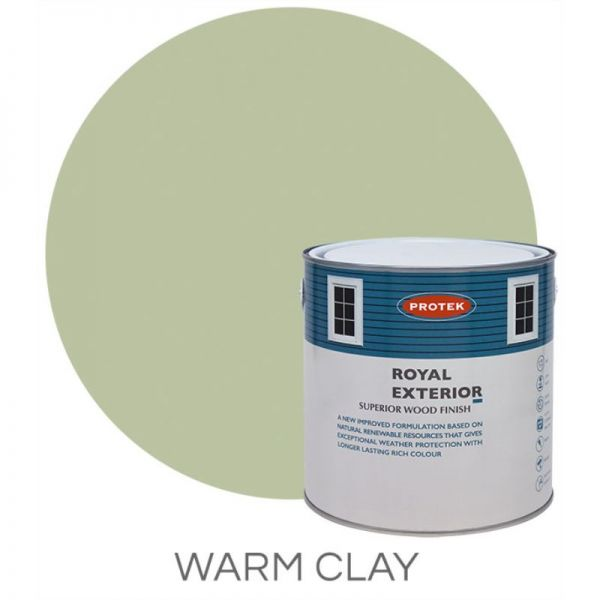 Protek Royal Exterior Wood Stain - Warm Clay 1 Litre