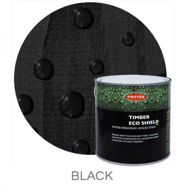 Protek Timber Eco Shield Treatment - Black 1 Litre