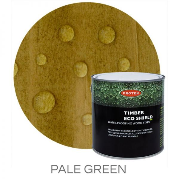 Protek Timber Eco Shield Treatment - Pale Green 5 litre