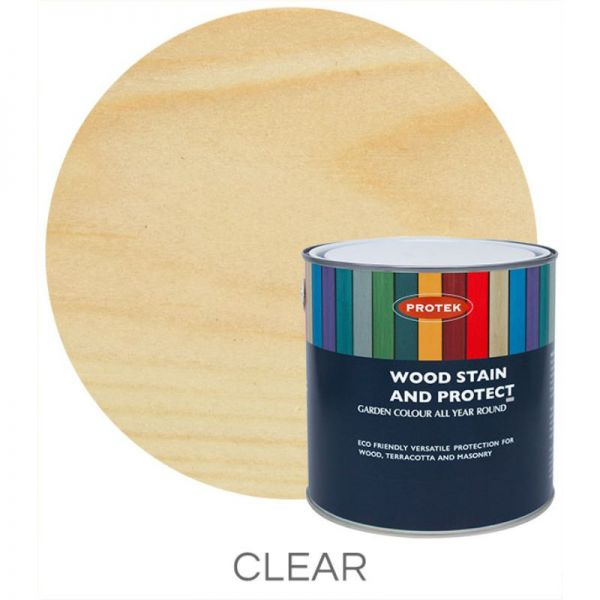 Protek Wood Stain & Protector - Clear Top Coat 5 Litre