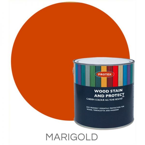 Protek Wood Stain & Protector - Marigold 5 Litre