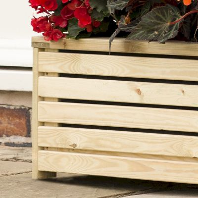 Rowlinson Garden Creations Rectangular Planter