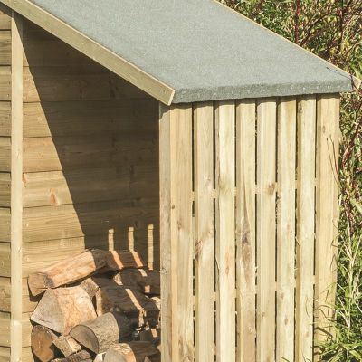 Rowlinson Oxford Shed 4x3 with Lean-to