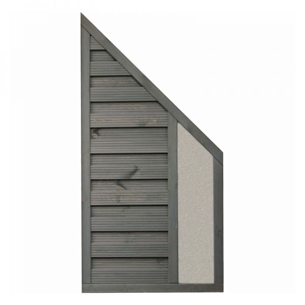Rowlinson Palermo Angled Screen Solid Infill 1.8m x 0.9m
