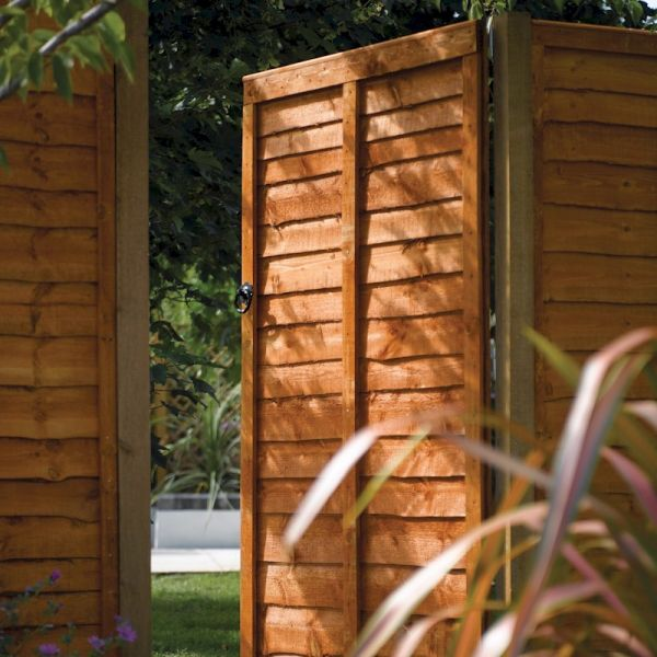 Rowlinson Traditional Lap Gate Dip Treated 6ft x 3ft