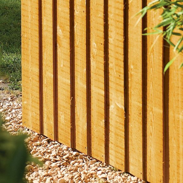 Rowlinson Vertical Board Gate Pressure Treated 6ft x 3ft
