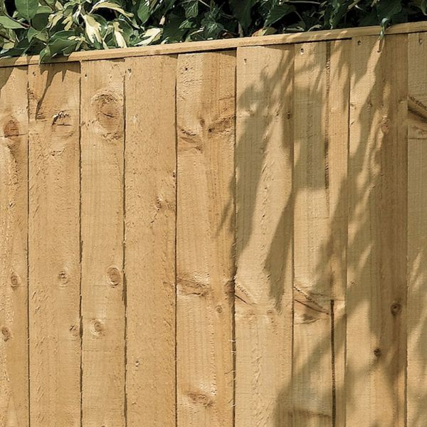 Rowlinson Vertical Board Panel Pressure Treated 4ft x 6ft