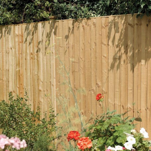Rowlinson Vertical Board Panel Pressure Treated 5ft x 6ft