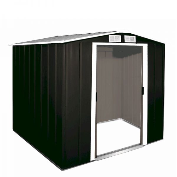 Sapphire Apex 6x6 Anthracite Metal shed