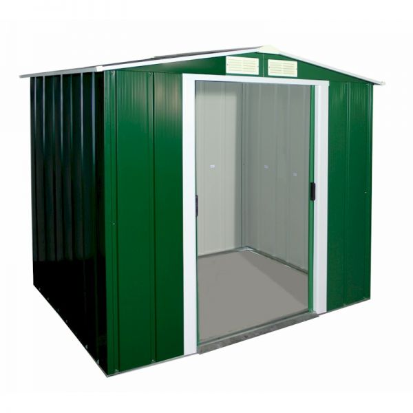 Sapphire Apex 6x6 Green Metal shed