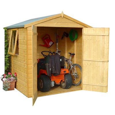 Shire Arran Double Door Shed 6x6