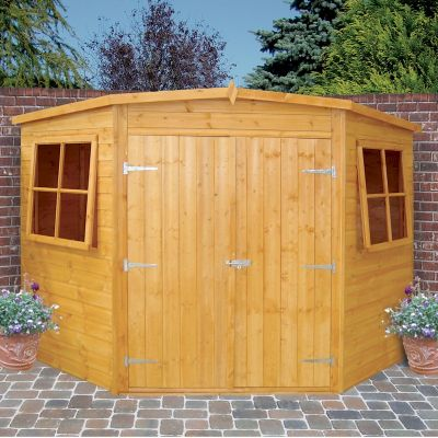 shire corner shed 7x7 one garden
