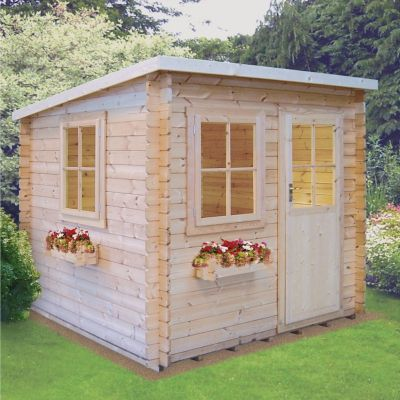 Shire Dean 28mm Log Cabin 10x8