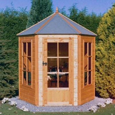 Shire Gazebo Summerhouse 6x6 One Garden