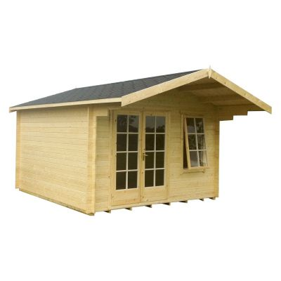 Shire Glenmore 28mm Log Cabin 14x16