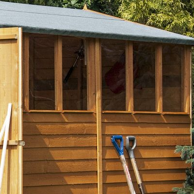 Shire Overlap Garden Shed 12x8 with Double Doors