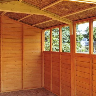 Shire Overlap Garden Shed 15x10 with Double Doors