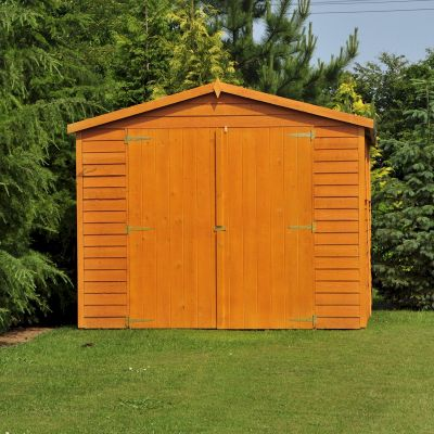 Shire Overlap Garden Shed 20x10 with Double Doors