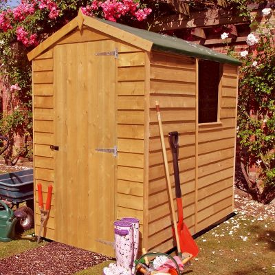 Shire Overlap Garden Shed 6x4
