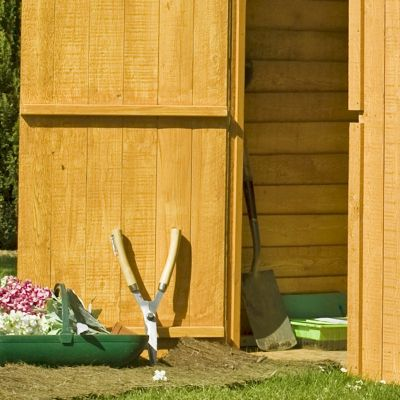 Shire Overlap Windowless Shed 6x6 with Double Doors