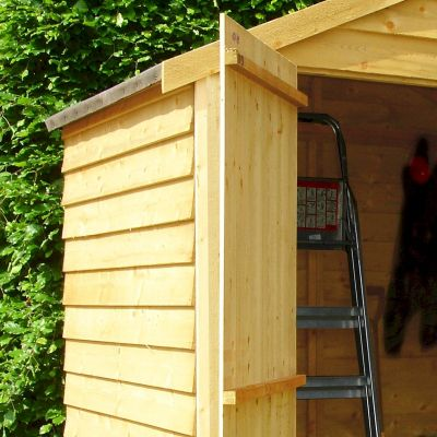 Shire Pressure Treated Overlap Shed 4x6 with Double Doors