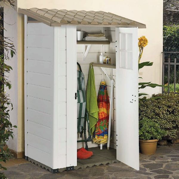 Shire Tuscany EVO 100 Single Door Plastic Store