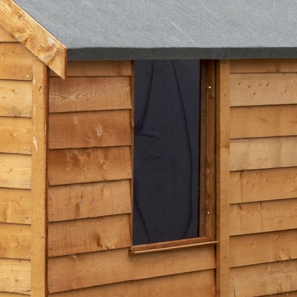 Shire Value Overlap Apex Shed 6x4 with Window