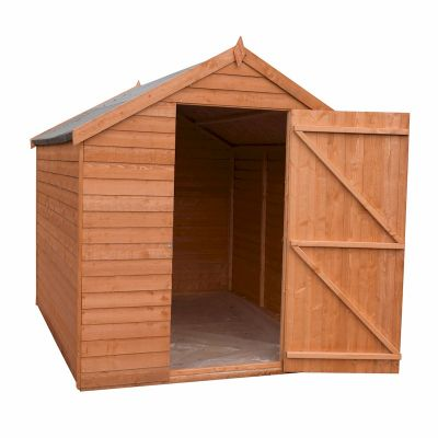 Shire Value Overlap Apex Shed 8x6