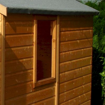 Shire Warwick Double Door Shed 8x6