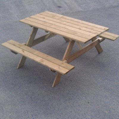 Store More Picnic Table