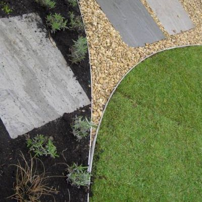 Swift Edge Garden Edging Brown 6m Pack