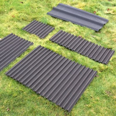Watershed Roofing Kit (for 8x12ft sheds)
