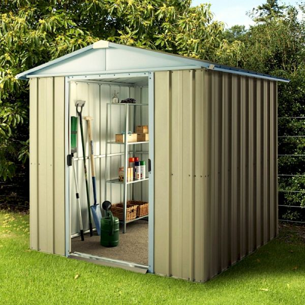 Yardmaster Hampton 67CZ Metal Shed 7x6