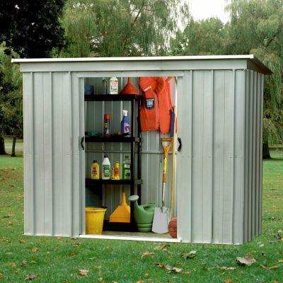 Yardmaster Store-All 64PZ Pent Metal Shed 6x4