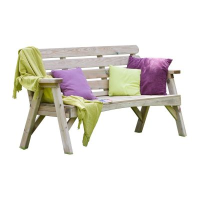Zest Abbey 3 Seater Bench