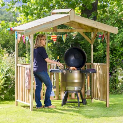 Zest Ashton BBQ Shelter Gazebo
