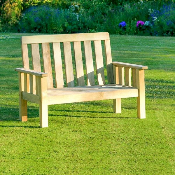 Zest Christina Bench With Seat Pads One Garden